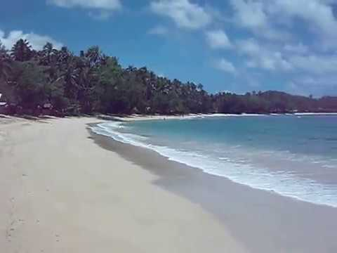 Cagwait beach, Surigao del Sur, Mindanao, Philippines
