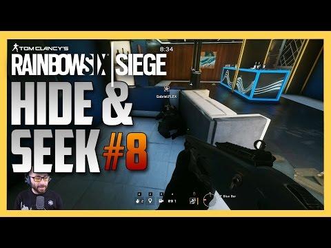 Rainbow Six Siege Hide and Seek #8 - Coastline & University