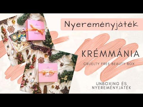 Krémmánia Cruelty Free Beauty Box - UNBOXING ÉS NYEREMÉNYJÁTÉK