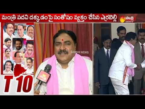 Errabelli Dayakar Rao Face to Face  After Takes Oath as Minister  KCR Cabinet  Telangana Cabinet