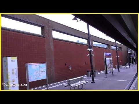Metro ride through the window: Troelstralaan - Hoogvliet Rotterdam!