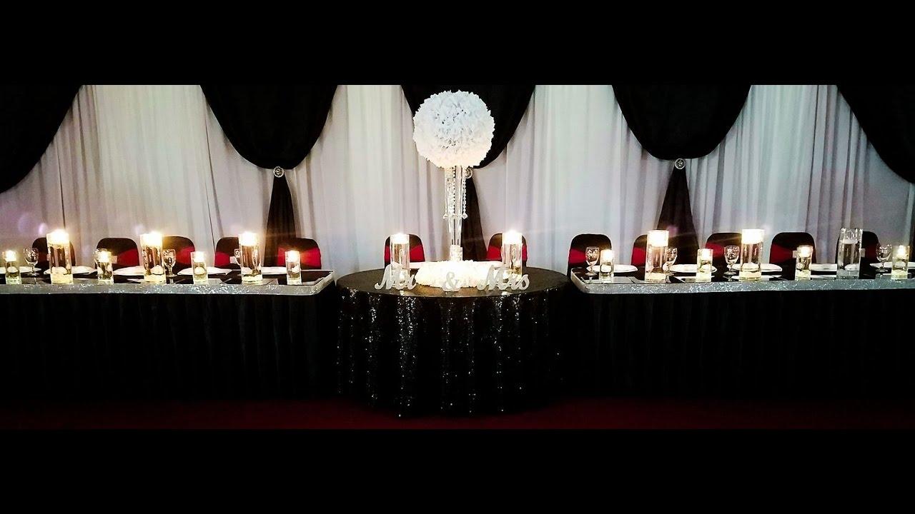 Burgundy Wedding Reception YouTube