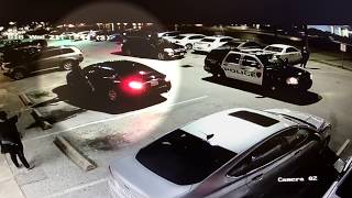 Angry woman trashes restaurant then goes on police chase