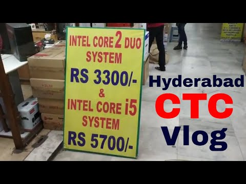 CTC Whole Sale Computer Shopping Zone In Telugu|Cheapest Computers And Laptops Mobiles Secunderabad