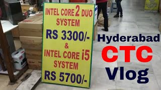CTC Whole Sale Computer Shopping Zone In Telugu Cheapest Computers and Laptops Mobiles Secunderabad