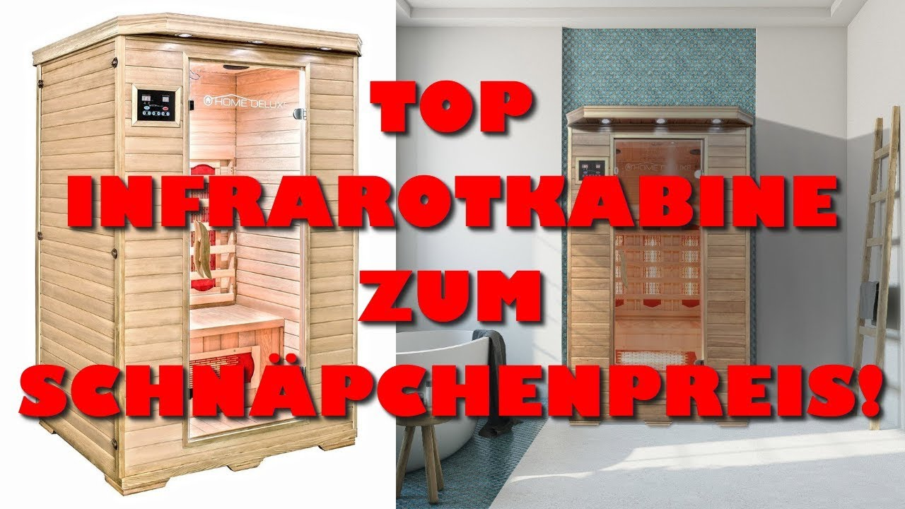 infratrotkabine test home deluxe infrarotkabine redsun m vollspektrumstrahler youtube. Black Bedroom Furniture Sets. Home Design Ideas