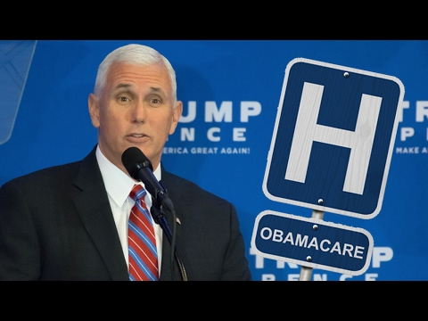 That Time Mike Pence Used Obamacare