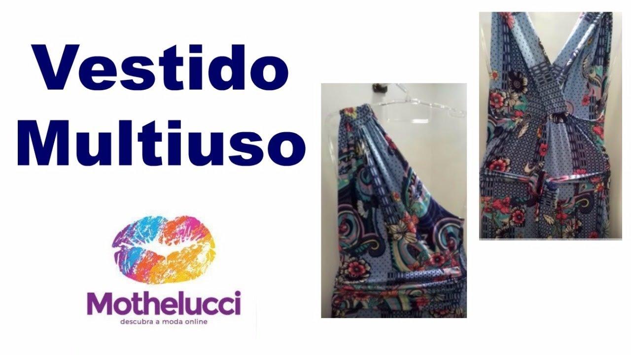 983519e8e 💜Como usar o Vestido Multiuso - 6 formas.💜 - YouTube