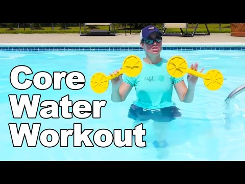 d2aee8afc1d Water Workout for Your Core (Aquatic Therapy) - Ask Doctor Jo - YouTube