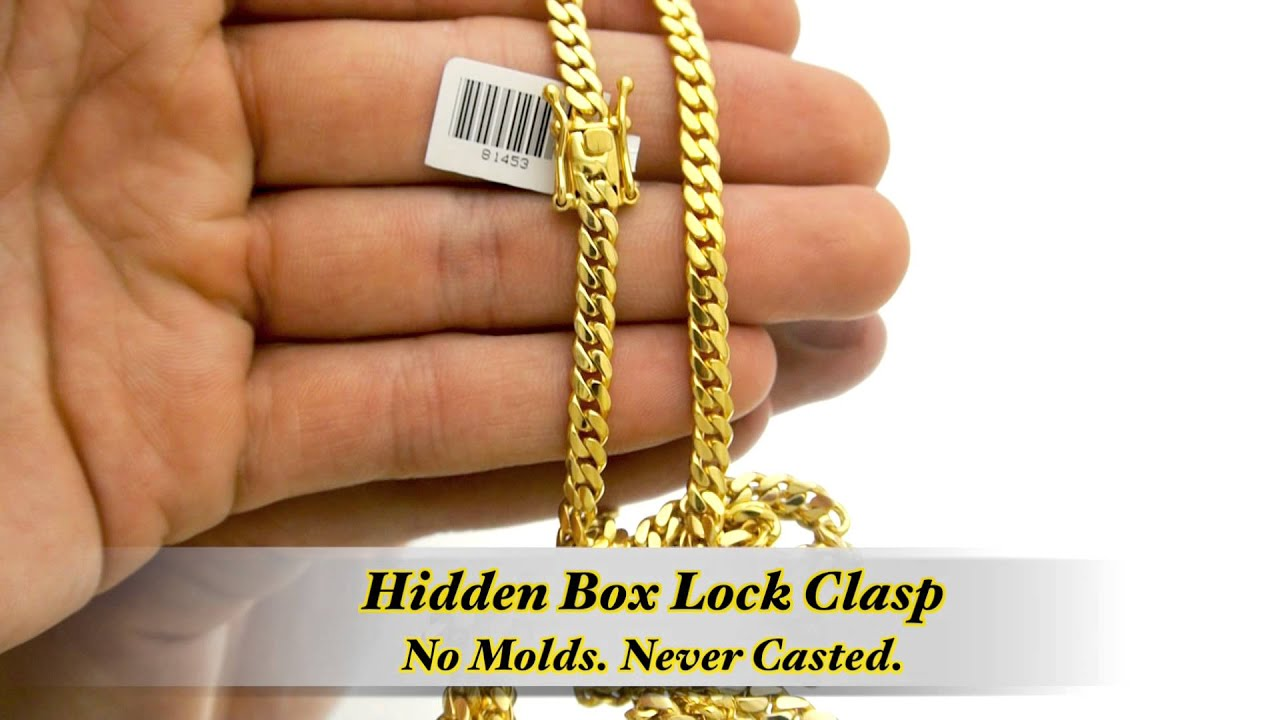5mm Miami Cuban Link Chain Hd Hand Made Custom Daniel