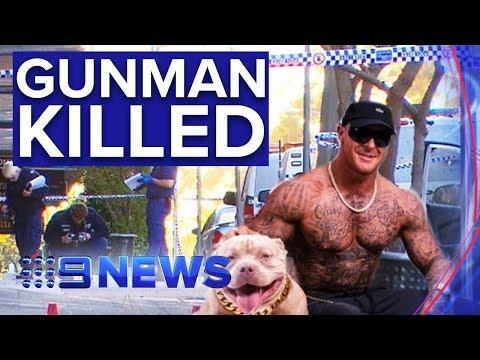 Sydney Bodybuilder Shot Dead After Opening Fire On Police | Nine News Australia