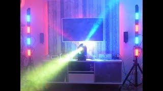 IMG Moving Head Mini Cube 60 + Eurolite LED Bar PIX 144 RGB