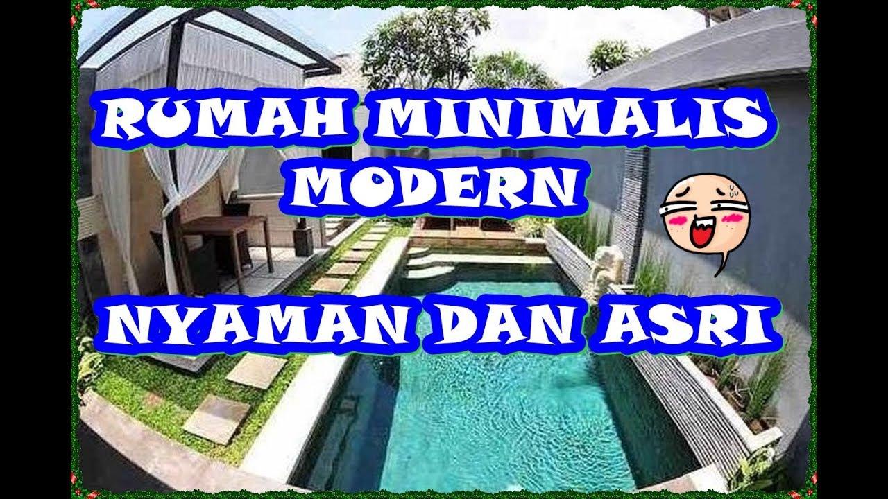 desain rumah minimalis modern sederhana - YouTube