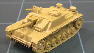 Miniature Review - 15mm Stug III from Plastic Soldier Company