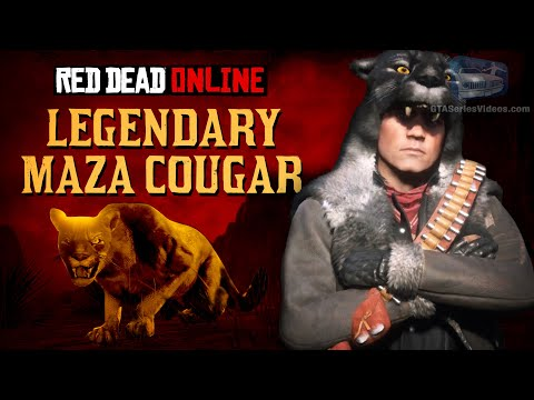 Red Dead Online: Legendary Animals Iguga Cougar Spawn Location Naturalist Role Update from YouTube · Duration:  1 minutes 39 seconds