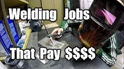 Welding Work That Pays Good Money | THE HANDYMAN |