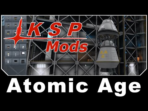 KSP Mods - Atomic Age: Nuclear Rockets