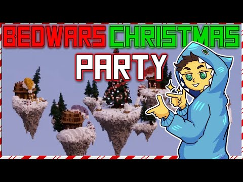 I throw a Bedwars Christmas Party during a Solo public match