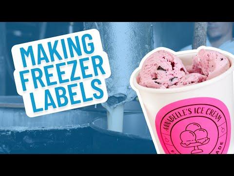 Smith Corona Introduces - Freezer Grade Labels With Hot Melt Adhesive