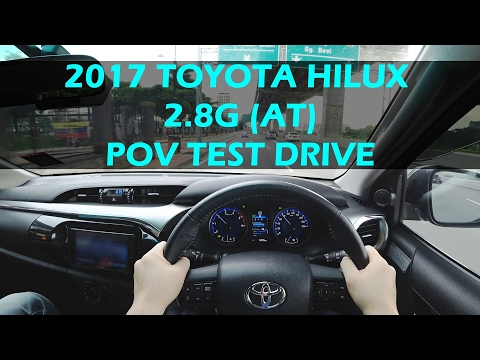 Toyota Hilux 2017 2.8G Turbo Diesel Malaysia POV Test Drive (POPULAR PICKUP TRUCK) #toyotahilux