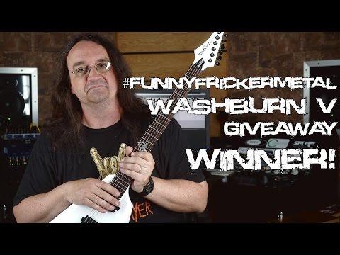 #FunnyFrickerMetal -  Washburn V WINNER | Spectre Sound Studios