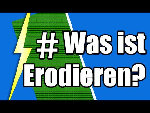 Was ist Erodieren bzw. funkenerosives Abtragen? EDM - YouTube
