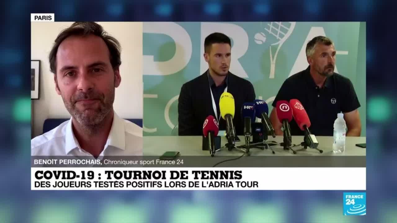 Covid-19 - Tournoi de tennis : des joueurs testés positifs lors de l'Adria tour