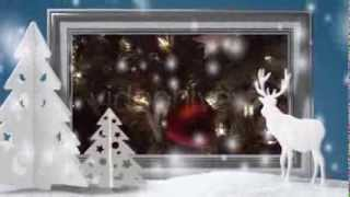After Effects Project. Create Slideshow For New Year And Christmas - Snow Globe Christmas Package