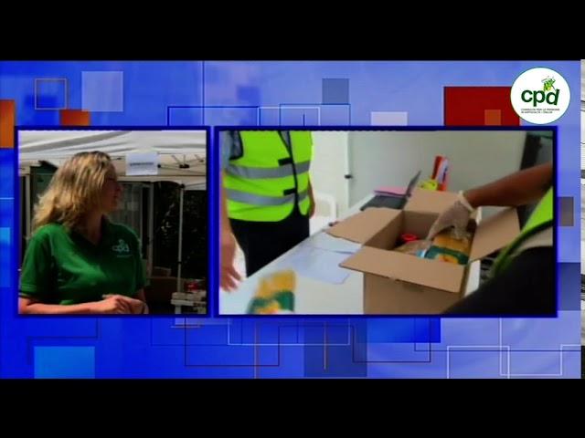 Servizio RAI in diretta dalla CPD 16/07/2020