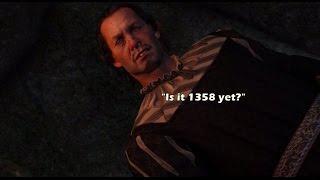 """Witcher 3: Wild hunt. Ведьмак 3. Вампир из трейлера, как его найти.  """"В поисках фолианта""""."""