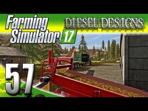 Farming Simulator 2017 Gameplay :EP57: Manure Spreader Mod & Conveyor Belt! (PC HD Goldcrest Valley)