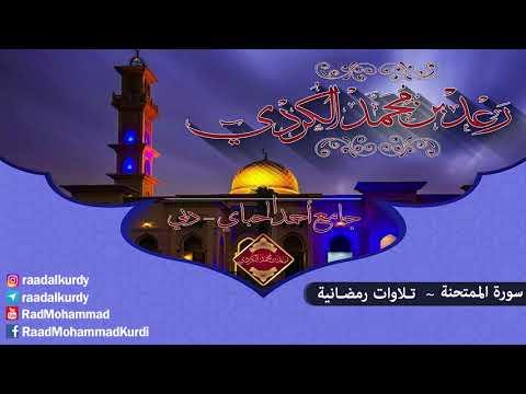 رعد محمد الکـردي '' سورة الممتحنة ,, جامع أحمد الحباي _ دبي 1437 هـ / 2016 م
