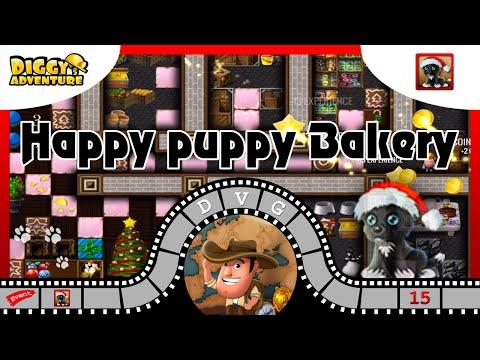 [~Christmas 2019~] #15 Happy Puppy Bakery - Diggy's Adventure