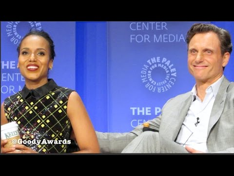 Kerry Washington and Tony Goldwyn talk Scandal Chemistry