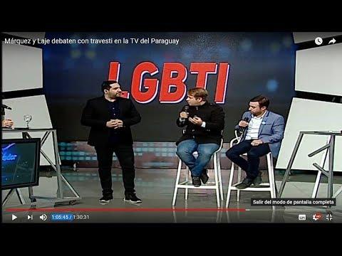 Márquez Y Laje Debaten Con Travesti En La TV Del Paraguay