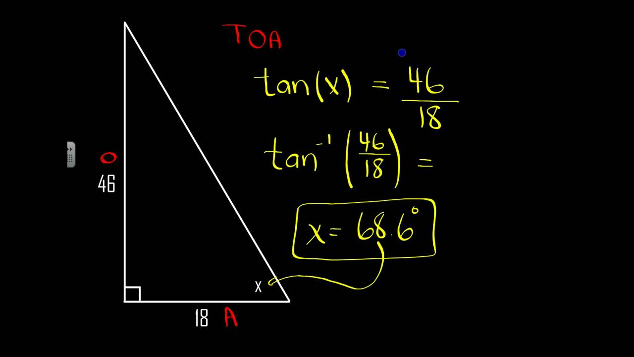how to find the width of a river using trigonometry