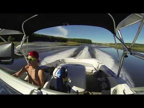 Go Pro Water Skiing South Africa - Bird Valley Estate - HD!!