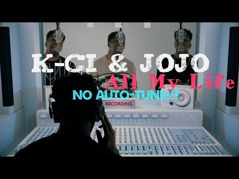 All My Life AutoTune Vs No AutoTune