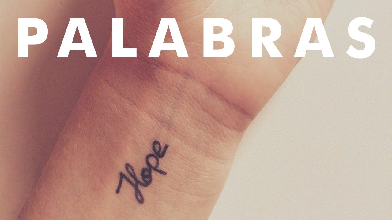 Tatuajes 1 Palabra