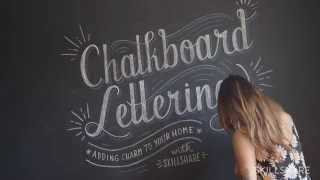 Chalk Lettering Text with Lauren Hom