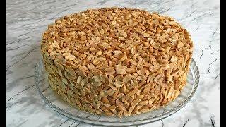 """Торт """"ОРЕХОВЫЙ БУМ"""" (Ооочень Вкусно) / Ореховый Торт / Бисквитный Торт / Nuts Cake Recipe"""