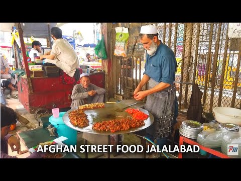 Afghanistan Street food | Road side food Jalalabad City Tala