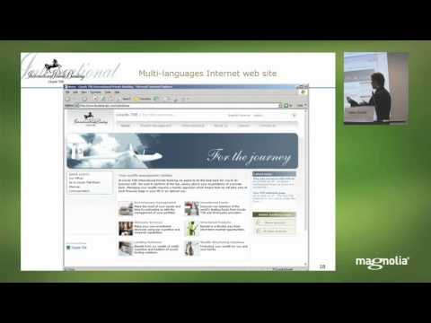 Lloyds TSB International Private Banking builds Intranet with Magnolia CMS