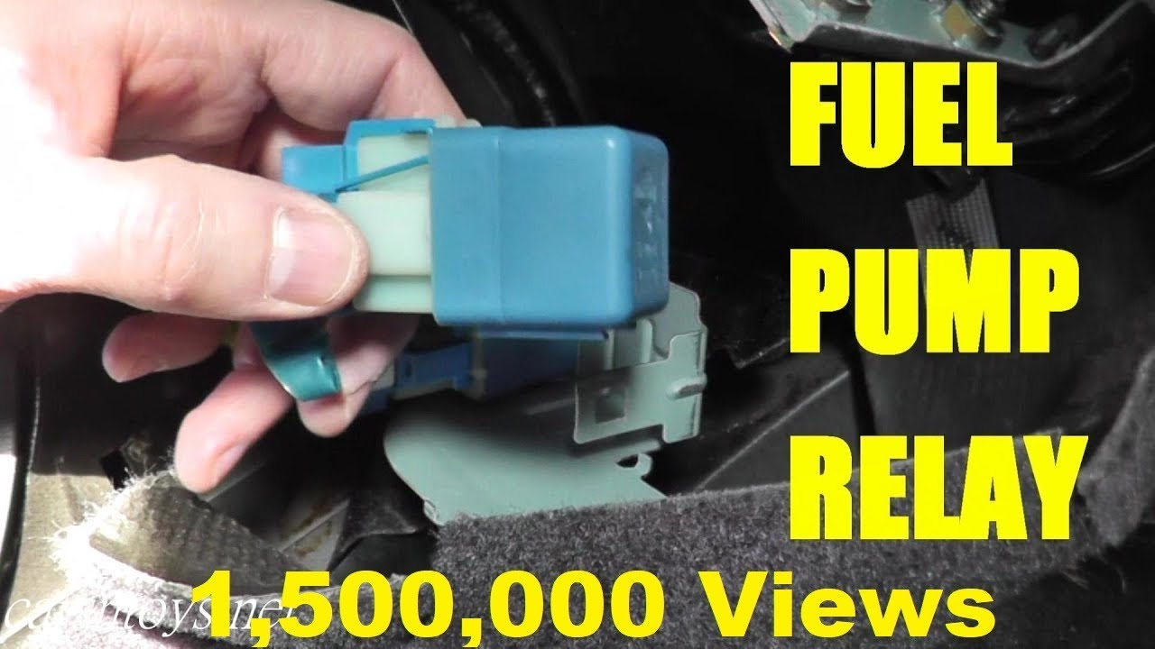2006 Nissan X Trail Wiring Diagram Mk Garage Consumer Unit Fuel Pump Relay Testing And Replacement - Youtube