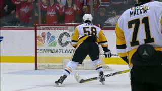 Funny bounce off Letang