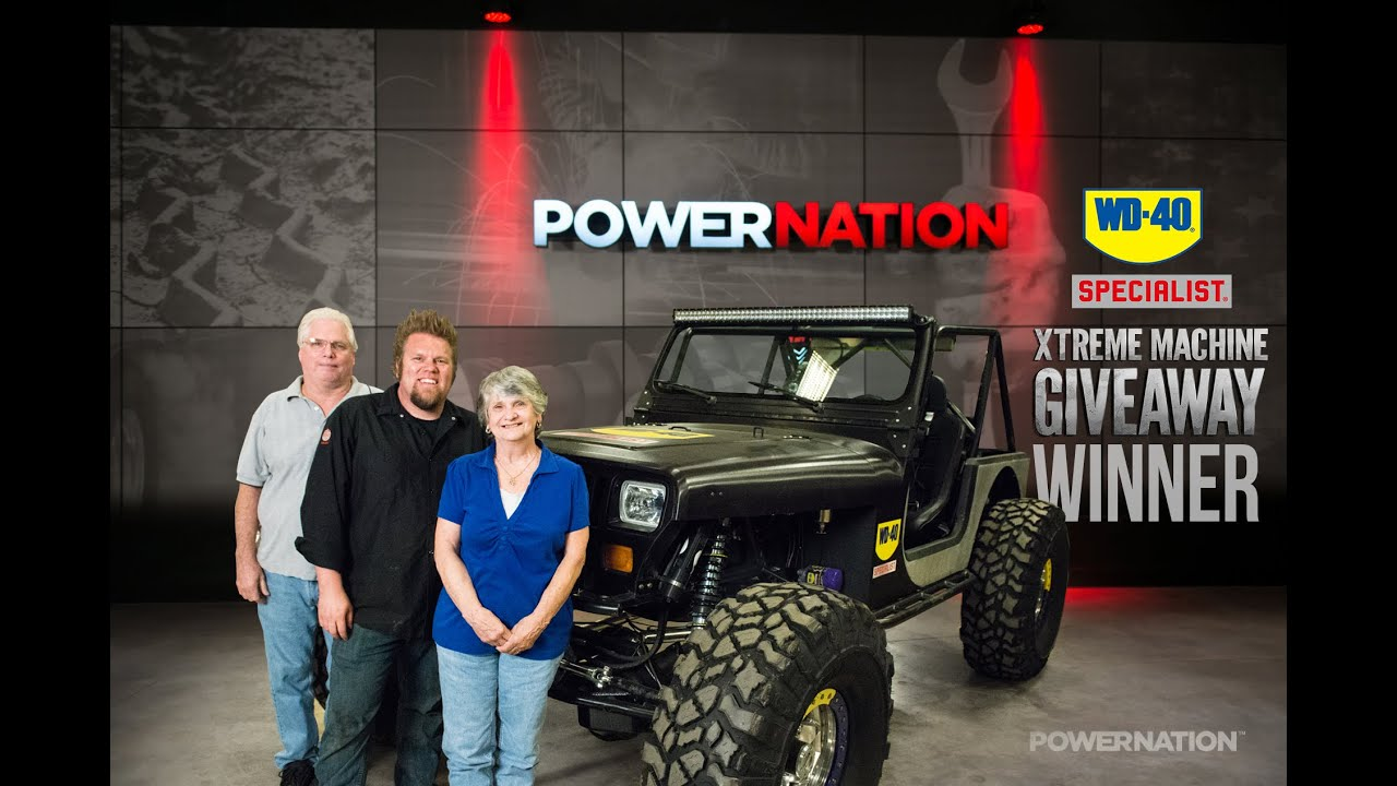 Power nation detroit muscle giveaways