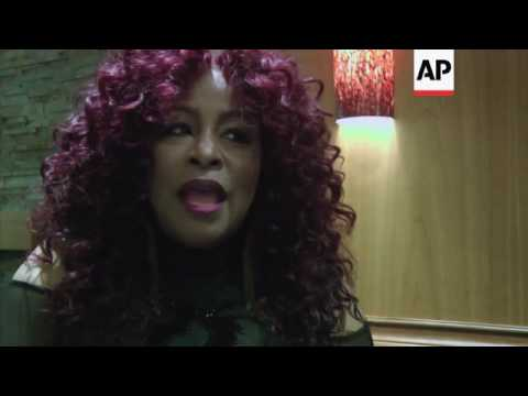 Chaka Khan talks about the endurance of Prince's music backstage at the Prince tribute concert