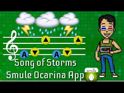 UPDATED Song of Storms |Smule Ocarina App|