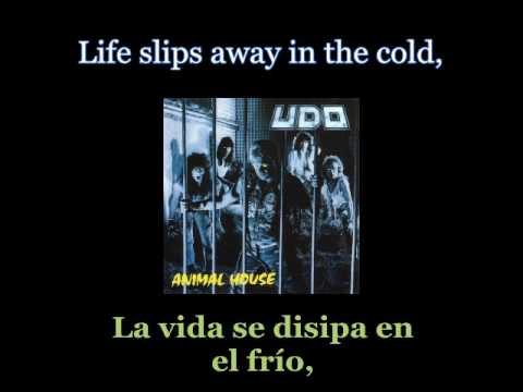 U.D.O. - In The Darkness - Lyrics / Subtitulos en español (Nwobhm) Traducida