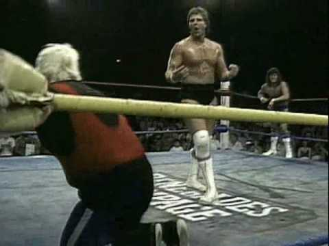 USWA - Chris Von Erich and Chris Adams vs Steve Austin and Percy Pringle (part 2)